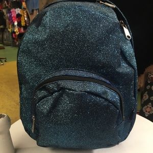 Handbags - Small Glitter Backpack